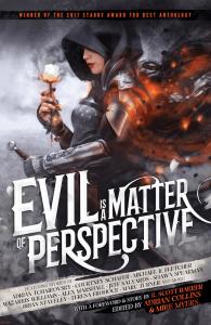 Evil is a Matter of Perspective eBook Cover - Grimdark Magazine Anthology