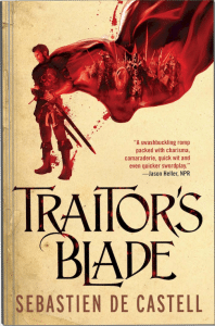 Traitor's Blade UK Cover