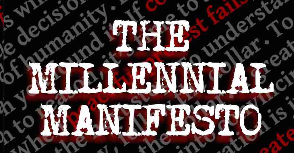 REVIEW: The Millennial Manifesto by Michael R. Fletcher