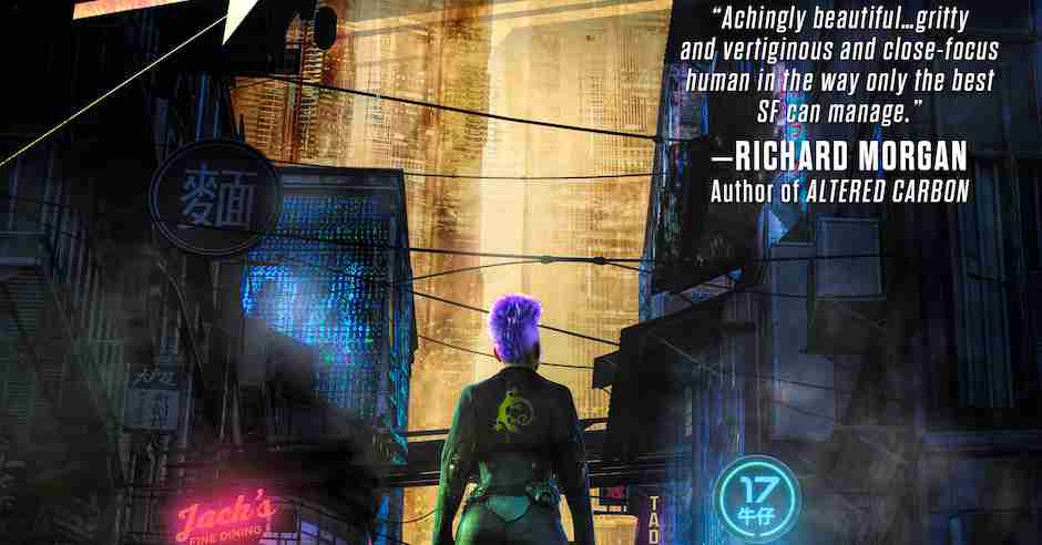 OUT NOW: Neon Leviathan by T.R. Napper noir SF excerpt
