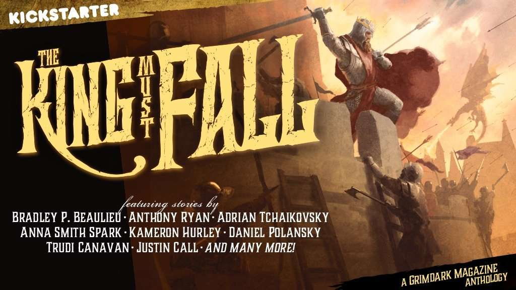 ANNOUNCEMENT: The King Must Fall goes live today!