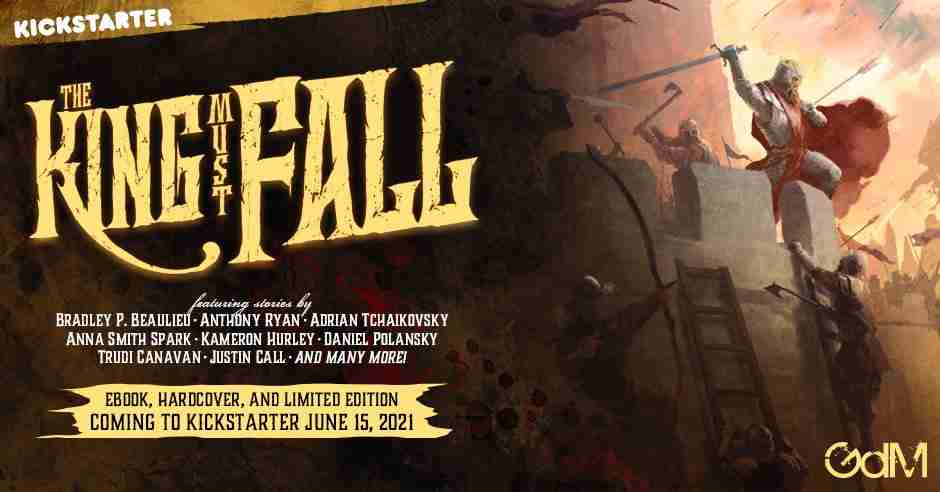 EXCLUSIVE: The King Must Fall book trailer